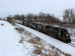 CN A49191-17 (Tunnel Blanket) Tags: cn ic illinoiscentral sd70 a491 byron wisconsin waukeshasub