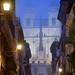 Rome - Rione IV Campo Marzio - Chiesa della Trinità dei Monti - Piazza di Spagna (Spanish Steps)