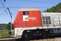 353.03 (Escursso) Tags: 310 353 barcelona cargometro castellbisbal catalunya comsa fgc renfe seat railway tren trens emd tmd