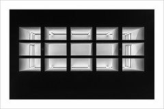 Horitzontal / Horizontal (ximo rosell) Tags: ximorosell bn blackandwhite blancoynegro bw finestra claraboya llum luz light arquitectura architecture abstract abstracció nikon d750 valencia spain