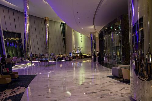 Lobby at Jumeirah Hotel, Abu Dhabi