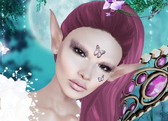 Mila Blauvelt (Mila Blauvelt) Tags: milablauvelt model avatar virtual secondlife shopping makeup makeups omega elfo fairies butterflies designer alge´sdesignsmakeups exclusive event ebentotheevent ebento meshhead meshheadbento earsbento