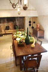 Замок Шенонсо Кухня InterNetri  France 108