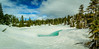 Black Mountain-Pano.jpg (jamiepacker99) Tags: 2018 canonef24105mmf4lisusmlens spring blackmountain canoneos6d westvancouver may trees snow bc canada landscape lake frozenlake panorama