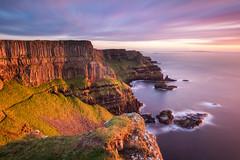 The Causeway Coast (explored) (Hibernia Landscapes (sjwallace9)) Tags: ireland giantscauseway hamilton seat sunset cliffs antrim