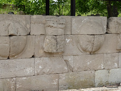 Shield and Breast-Plate Monument, Dion  (1).JPG (tobeytravels) Tags: alexanderthegreat alexander3rd macedon macedonia thucydides brasidas orpheus hellenistic cranicos leake