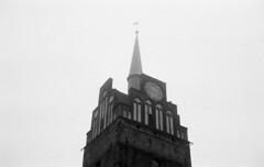 foggy (XE-HRO) Tags: voigtländer bessar industar 50mm kentmere 400 xtol nebel stadttor