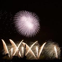 第7回いせはら芸術花火大会 7th Isehara Artistic Fireworks Festival (ELCAN KE-7A) Tags: 日本 japan 神奈川 kanagawa 伊勢原 isehara 芸術 artistic 花火 fireworks 磯谷 煙火店 isogai ペンタックス pentax k3ⅱ 2018