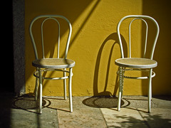 ombre... / shadows... (frank28883) Tags: ombre sedie