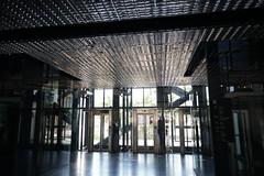 2018-04-FL-183475 (acme london) Tags: aluminium aluminiumreflectors barcelona ceiling fira hotel interior jeannouvel lobby renaissancehotelfira spain suspendedceiling