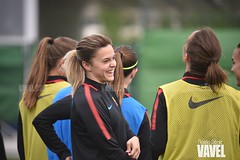 DSC_9490 (VAVEL España (www.vavel.com)) Tags: fcb femenino barcelona barça blaugrana liga previa entreno rayo fútbol futfem