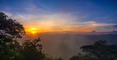 Sunrise - Sri Lanka (dkphotographs) Tags: srilanka morning light sunrise sun sunlight autumn fog misty rural trees field beautiful clouds sky red orange yellow fall foggy hazy country landscape nature wildlife countryside sonyalpha6000 sigiriya panorama hdr