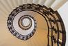 Hamburg - Up and down the stairs (Karsten Gieselmann) Tags: 1240mmf28 braun em5markii mzuiko microfourthirds olympus treppe brown kgiesel m43 mft staircase stairs hamburg deutschland