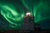 Lighhouse of the gods (Iván F.) Tags: night aurora borealis northernlight green iceland lighthouse nightscape nightout noctambulos noctografos sonya7r samyang20mm longexposure star light dark nature explore explorer exploration travel outside