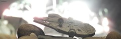 BOKEH FALCON (garydavidworthington) Tags: bokeh liverpool star wars falcon han solo smileonsaturday spaceship space starwars light catchthebokeh models collectables lucasfilm