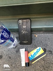 NYC Scavenger Hunt Photo (realcityhunt) Tags: random cellphone metrocard lipstick mac waterbottle smartwater miscellaneousitems challenge scavengerhunt corporateevent sidewalk concrete nyc newyorkcity cityhunt