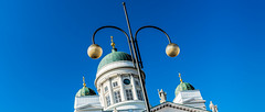Helsinki Cathedral (drasphotography) Tags: helsinki cathedral finland church kirche kathedrale drasphotography looking up sky himmel cielo architecture architektur nikon d810 nikkor2470mmf28