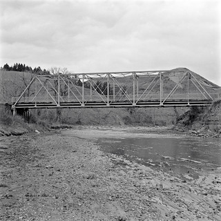 Willow Creek, old bridge