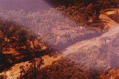 (rqlevy) Tags: 35mm fuji slidefilm xpro analog zion nationalpark utah usa virginriver adventure travel explore nature landscape hiking lightleak