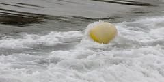 Ecume de bouée (ZUHMHA) Tags: marseille france urbain urban ville town eau water sea mer bouée buoy liquid liquide surface matière texture vague wave buoyant