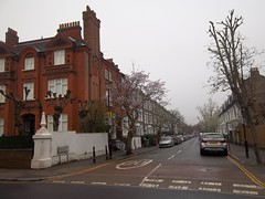 Quentin Road (doojohn701) Tags: row houses architecture junction trees lewisham sky southeastlondon uk