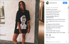 Mineira tem foto postada no Instagram de Justin Bieber e vira sucesso (portalminas) Tags: mineira tem foto postada no instagram de justin bieber e vira sucesso