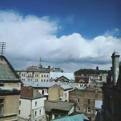 Lviv'17 (julia.samoilenko) Tags: old city lviv ukraine ua ukrainian cityscape blue sky clouds vsco spring time architecture roofs history historical centre