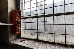 Ateliers C.-orange thing (Under The Dust) Tags: urbex cockerill metallurgie usine