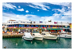 Bridge House (Timothy Valentine) Tags: 2018 0418 sky vacation restaurant datesyearss boats bridgetown saintmichael barbados bb