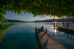 love is in the air! :) (Andreas.W.) Tags: lake evening mood abendstimmung wörthersee kärnten carintia lakeside lakeview austria austrianmountains