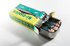 Si-dines (si_glogiewicz) Tags: sardines squash squashed tin fish packed commuting commute travel sardine food self portrait photoshop surreal surrealism surrealist strange odd