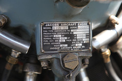 1953 Cessna 195 (twm1340) Tags: 1953 cessna 195 airplane p52 n4498c classic radial engine jacobs r755