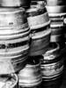 Beer Kegs (Andy Sut) Tags: kegs england burtonontrent stack urban brewery bar pub brewing monochrome bw blackandwhite metal ale barrels beer