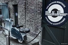 British heritage ? (ericbaygon) Tags: lambretta bike vélomoteur d750 camden london londres moto vintage ancien lifestyle nikon modfather