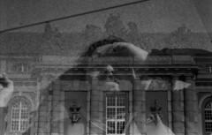 double exposed (aniablack) Tags: double exposure doubleexposure bw germany potsdam