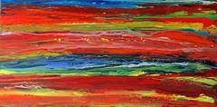A hot summer day (Peter Wachtmeister) Tags: artinformel art mysticart modernart popart artbrut phantasticart abstract abstrakt acrylicpaint surrealism surrealismus hanspeterwachtmeister