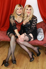 First time dressing with another girl...the lovely Tina. I had such a good time and a fabulous night out in London afterwards. Paula xxx (Paula Chester) Tags: tg ts trannie tranny lingerie tina blondes cd crossdresser crossdressing ladyboys tgurl tgirl tranniefun