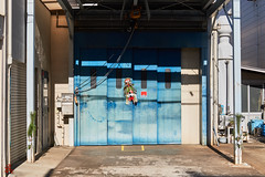 Store Front II (gullevek) Tags: building culture door fujixt1 fujifilm fujinonxf35mmf2rwr japan newyear otaku shadow things tokyo tokyoto yaguchi お正月 大田区 建物 影 戸 文化 日本 東京 東京都 物 矢口 ōtaku tōkyōto