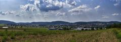 Sommer über Nabburg (Helmut Reichelt) Tags: nabburg naab oberpfalz sommer august bavaria deutschland germany leica leicam typ240 captureone10 colorefexpro4 leicasummilux50mmf14asph panorama fhdr