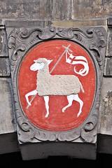 Janskerk (just.Luc) Tags: church kerk église kirche janskerk utrecht holland nederland paysbas niederlande netherlands europa europe rood rouge rot red schaap sheep mouton schafe vlag drapeau flag flagge