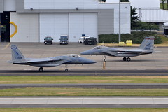 United States Air Force (Florida ANG) - McDonnell Douglas F-15C Eagle - USAF 80-0049 and United States Air Force (Oregon ANG) - McDonnell Douglas F-15C Eagle - USAF 84-0005 - Portland International Airport (PDX) - June 3, 2015 2 981 RT CRP (TVL1970) Tags: nikon nikond90 d90 nikongp1 gp1 geotagged nikkor70300mmvr 70300mmvr aviation airplane aircraft militaryaviation portlandinternationalairport portlandinternational portlandairport portland pdx kpdx usaf800049 af800049 800049 unitedstatesairforce usairforce usaf floridaairnationalguard floridaang flang airnationalguard ang 159thfightersquadron 159fs 159thfs 125thfighterwing 125thfw 125fw boeing mcdonnelldouglas mcdonnelldouglasf15eagle boeingf15eagle mcdonnelldouglasf15ceagle boeingf15ceagle f15eagle f15ceagle eagle f15 f15c prattwhitney pw prattwhitneyf100 f100 pwf100 prattwhitneyf100pw220 f100pw220 usaf840005 af840005 840005 oregonairnationalguard oregonang orang 123rdfightersquadron 123dfightersquadron 123fs 123rdfs 123dfs 142ndfighterwing 142dfighterwing 142ndfw 142dfw 142fw hangar
