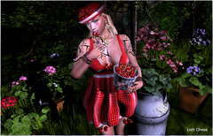 ♥ Sweet Moment... ♥ (ladychrissseyyal) Tags: ♥ sweet moment makeupp o e m a ups blush bandaids helena lipstick p the chapter four necklace earringsjumo originals pop flower earring jumo hat dress cheryles sucreries de fairy oh so cherry red rare lowerupper cherries holdable gift mouthie les tattoojuna ines tattoo woman juna