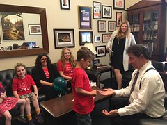 Moms and Clean Air Kids Meet with Representative Raskin