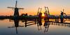 Yesterday's Sunset in Kinderdijk (Wim Boon (wimzilver)) Tags: wimboon windmill canoneos5dmarkiii handheld canonef1635mmf4lisusm kinderdijk unescoworldheritage holland nederland netherlands windmills spring lente reflections sunset