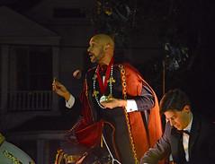 Keegan-Michael Key- Fierce! (BKHagar *Kim*) Tags: bkhagar mardigras neworleans nola la parade celebration people crowd beads outdoor street napoleon uptown keeganmichaelkey monarch orpheus night