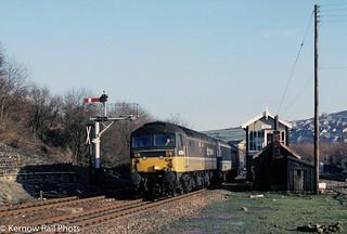 'Dunedin' arrives at Marsden in 1991
