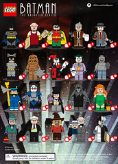 Batman the Animated Series Checklist (Ashnflash98) Tags: lego batman animated series alfred robin commissioner gordon detective harvey bullock catwoman clayface harley quinn joker killer croc mad hatter mr freeze penguin phantasm poison ivy riddler rupert thorne ventiloquist twoface