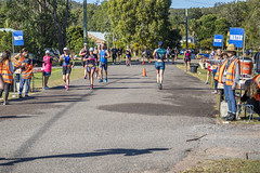 TriPortStephens - 2018 (vk2gwk - Henk T) Tags: sport competition running bikeriding swimming triathlon portstephens onemilebeach event