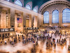 Grand Central Station - New York (Patrik S.) Tags: new york usa manhattan railway station terminal tilt shift filter nik collection rush hour busy traveller commuter commute travel panasonic adobe lightroom flag flagge counter schalter eilen reisen downtown color farbe eyecatcher hurry run pastel architecture building