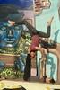 Seeking attention, Barranco, Lima - 2 (Yekkes) Tags: balance show performance gymnastics weight strength agile peru lima barranco youth mural shadows